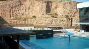 Открытый бассейн с радоновой водой