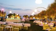 Свадебная открытая площадка у моря под Афинами