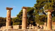 Древняя Олимпия, Пелопоннес, Греция