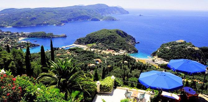 Отели на Корфу, Греция
