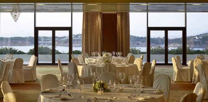 Свадебный зал у моря в Афинах