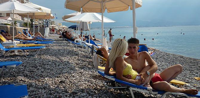 Лутраки - оздоровительный курорт на Средиземном море