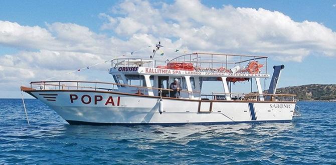 Морская прогулка по бухтам Родоса, Греция