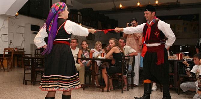 Фольклорная вечеринка на Родосе, Греция